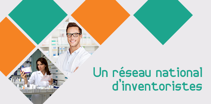L'ANIP, réseau national d'inventoristes en pharmacie